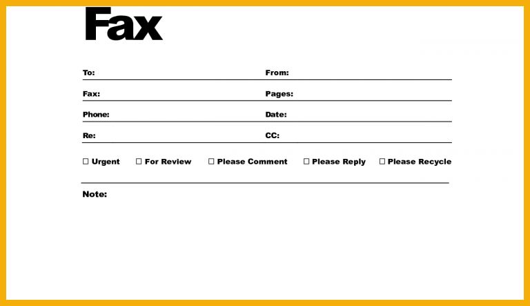 11+ fax cover letter | bursary cover letter