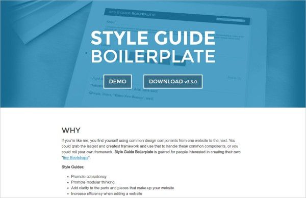 11+ Style Guide Tools | Free & Premium Templates