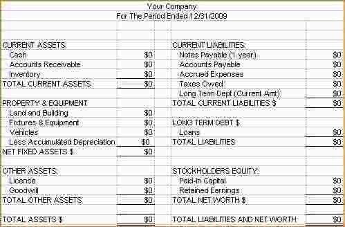4+ how to prepare a balance sheet | Ganttchart Template