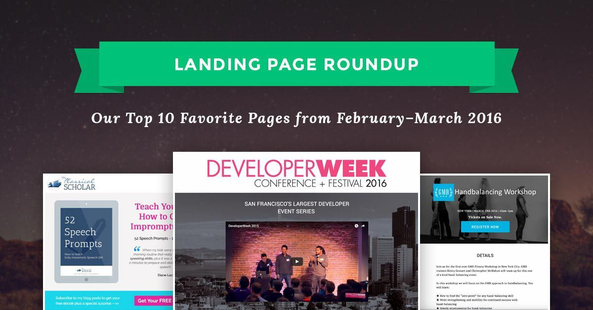 Landing Page Templates Archives - Leadpages Blog