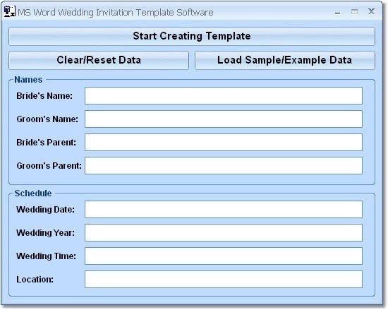 27 Wedding Invitation Templates Microsoft Word | Vizio Wedding