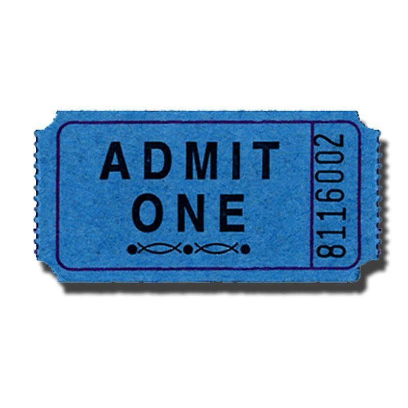 Pin Blank Admit One Ticket Template On Pinterest | The House