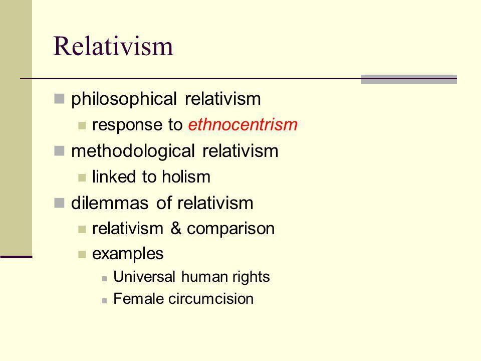 Anthropological Concepts. Fundamental Concepts & Principles Holism ...
