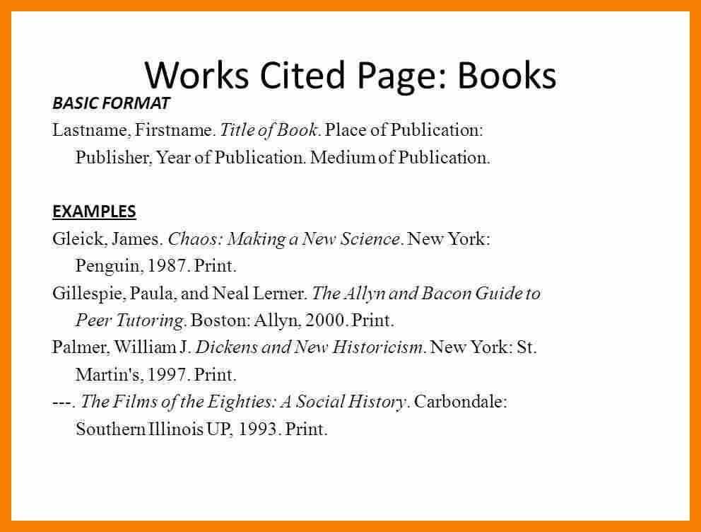 8+ works cited page example | biology resume