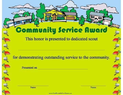 Years Of Service Award Template #awardcertificate ...