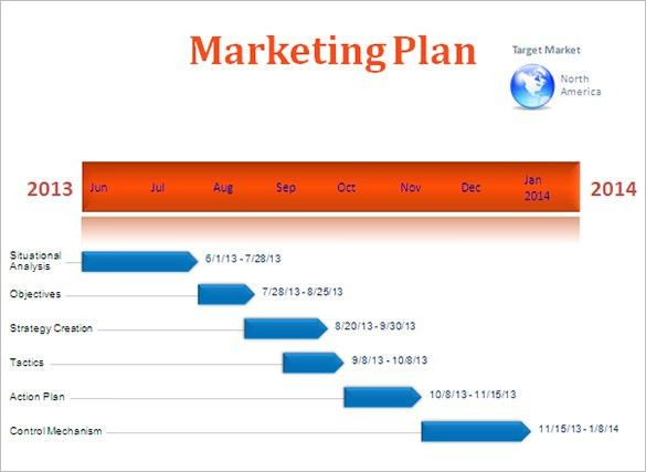9+ Advertising Timeline Templates – Free Word, PDF, PPT Format ...