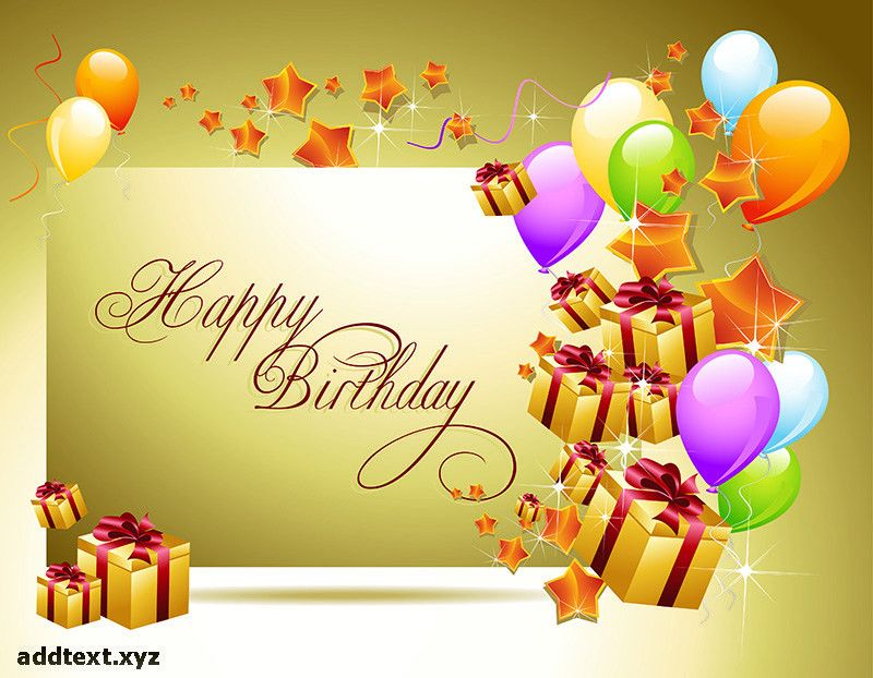 Happy birthday quotes template and Write text online | Add text ...