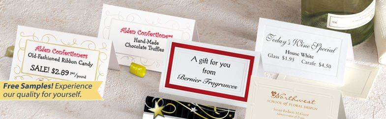 Printable Place Cards - Table Cards | PaperDirect | PaperDirect