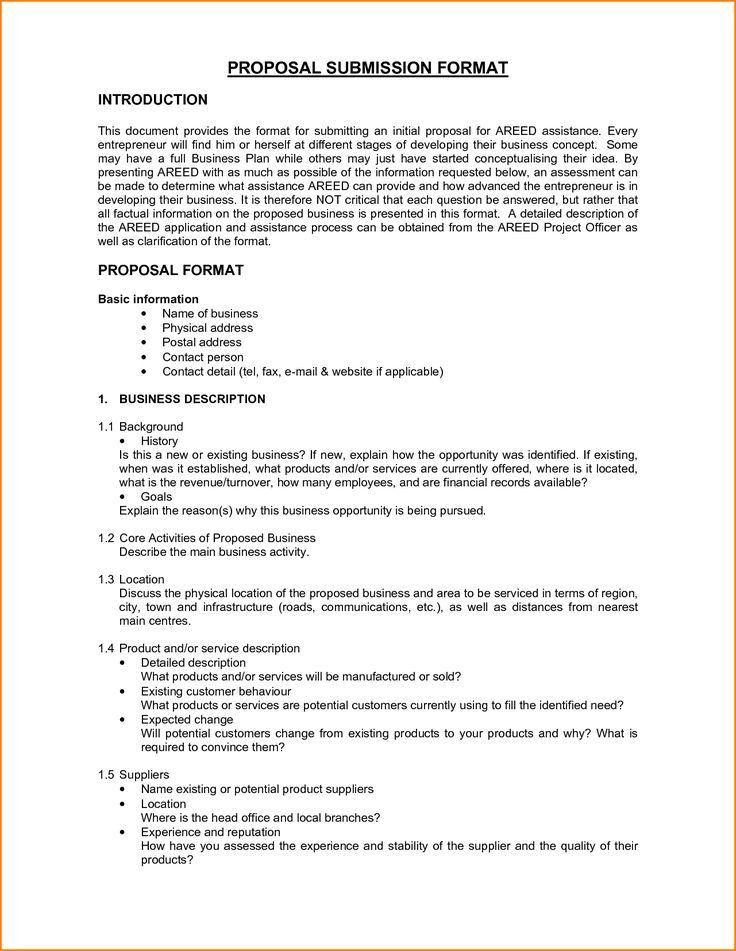 Website Proposal Sample. Freelance Sample Bid Proposal Letter ...