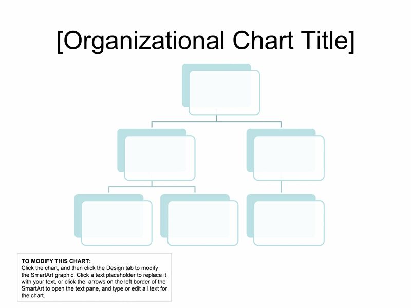 Organizational chart (basic layout) - Office Templates