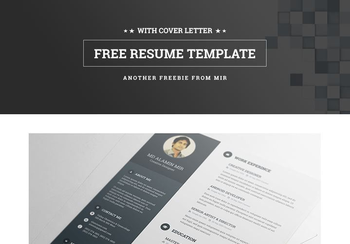 30+ Awesome PSD Portfolio and Resume Templates - 85ideas
