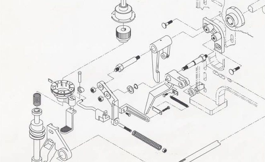 Mechanical Drawing 2D Drafting Services Portfolio