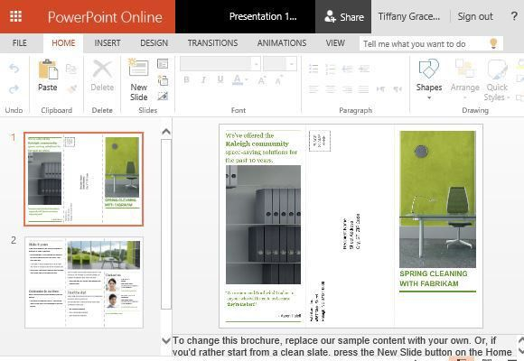 How To Create Printable Business Promotion Brochures in PowerPoint