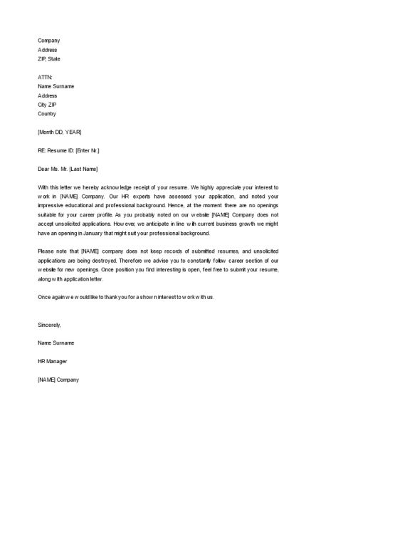 Acknowledgement Letter Templates | Topics about business forms ...