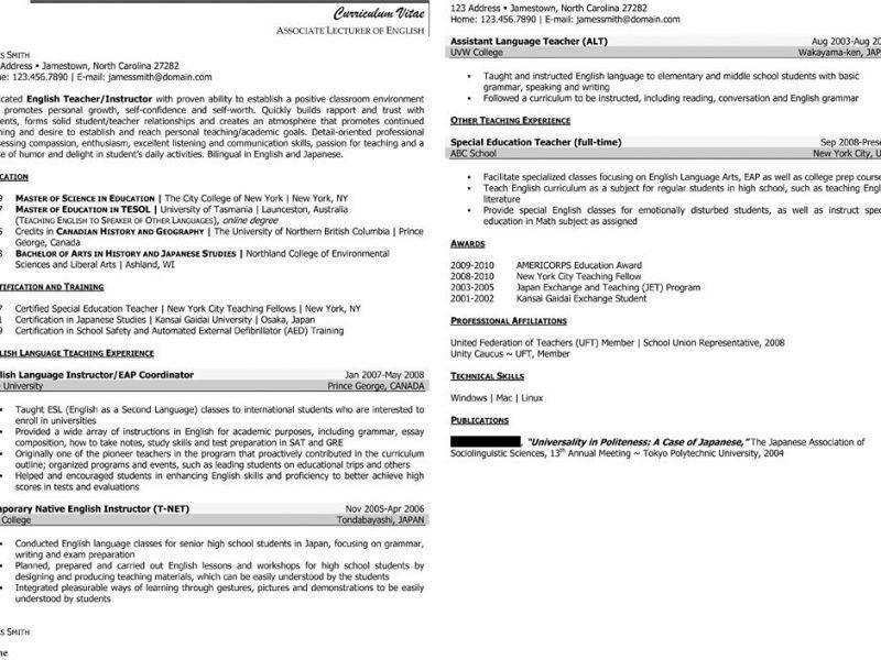 Resume Adjunct Faculty - Contegri.com