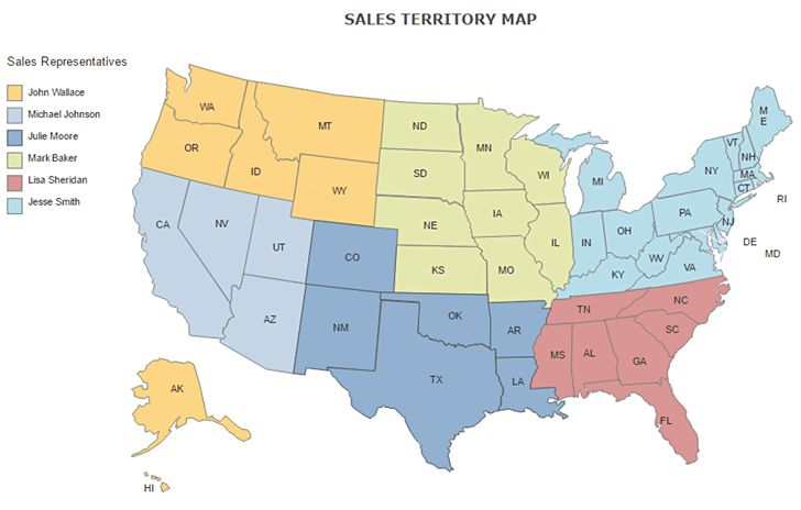 Sales Territory Mapping - How to Make a Sales Territory Map