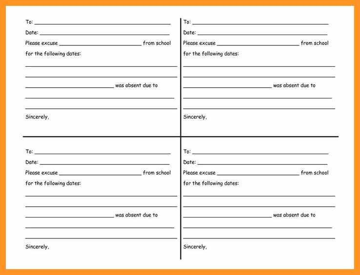doctor excuse note template for work | bio letter format