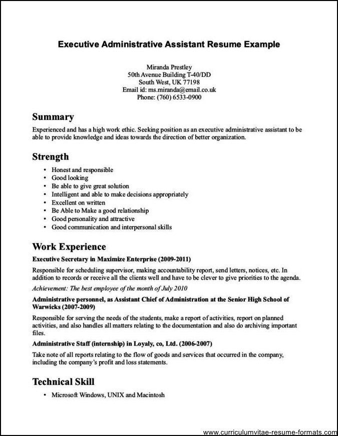 Sample Of School Office Assistant Resumes - Free Samples ...