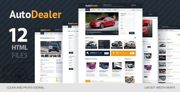 Car-dealer Templates from ThemeForest