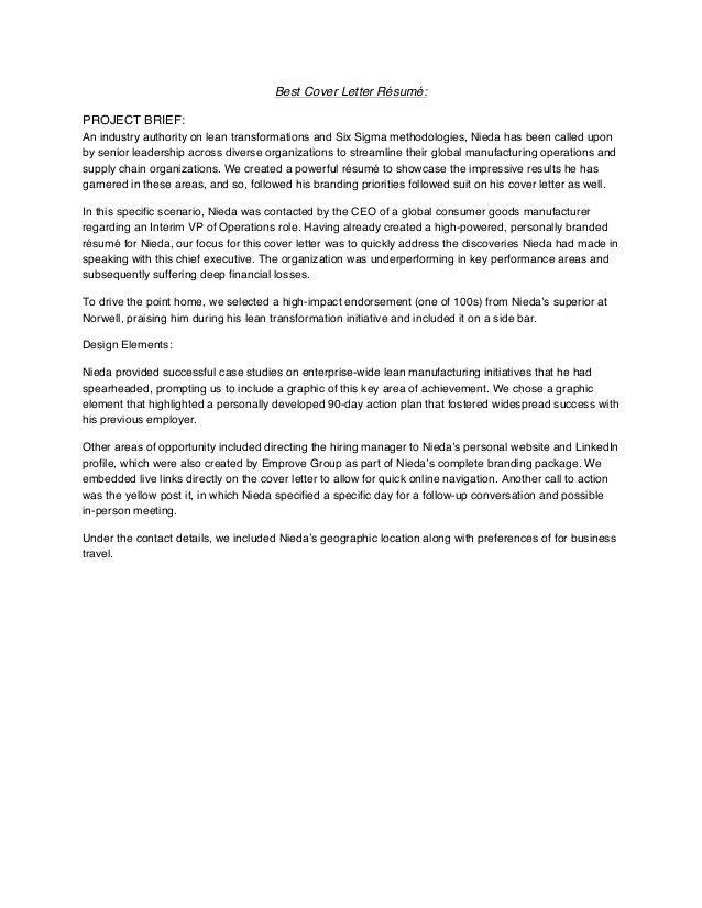 Cover Letter » Cover Letter International Organization - Cover ...