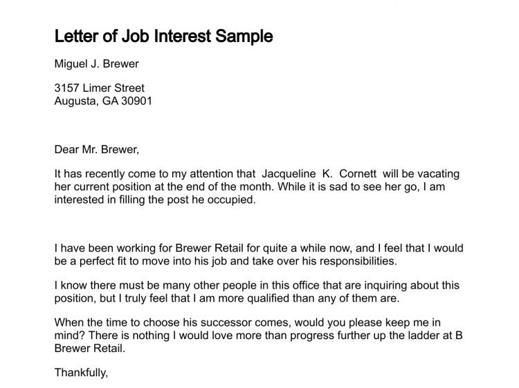 inquiry cover letter letter of inquiry is sent to explore ...