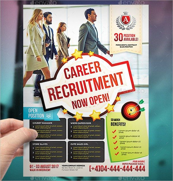 7+ Job Fair Flyers - Design Templates | Free & Premium Templates