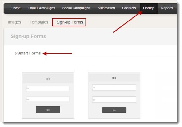 Sign-up Form Creation - Online Help | Zoho Campaigns