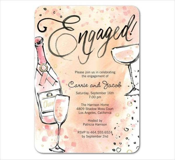 10+ Engagement Invitations | Free & Premium Templates