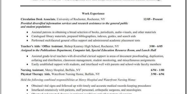 Objective Resume, teacher objective for resume - best resume ...