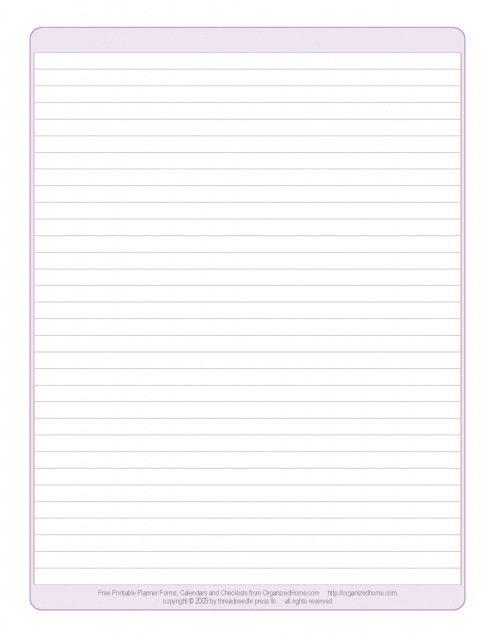 Best Photos of Printable Blank Paper Notebook - Blank Notebook ...