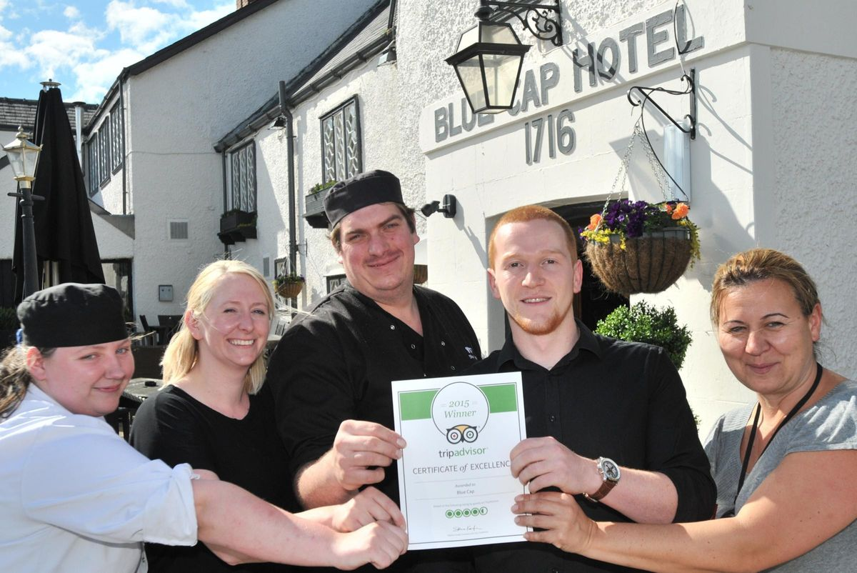 Blue Cap manager thanks everyone for praise for pub | Northwich ...