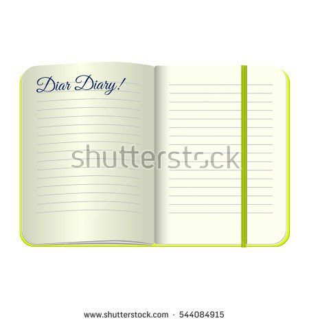 Dear Diary Stock Images, Royalty-Free Images & Vectors | Shutterstock