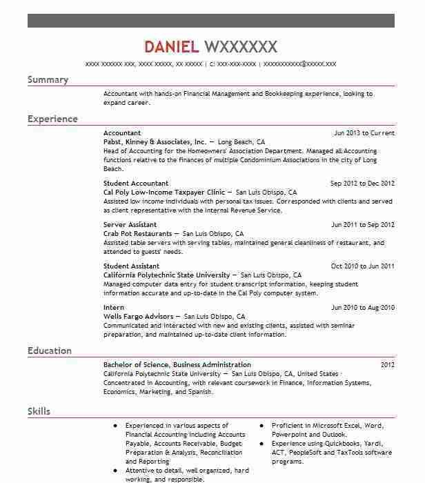 Accounting & Finance Resume Templates to Impress Any Employer ...