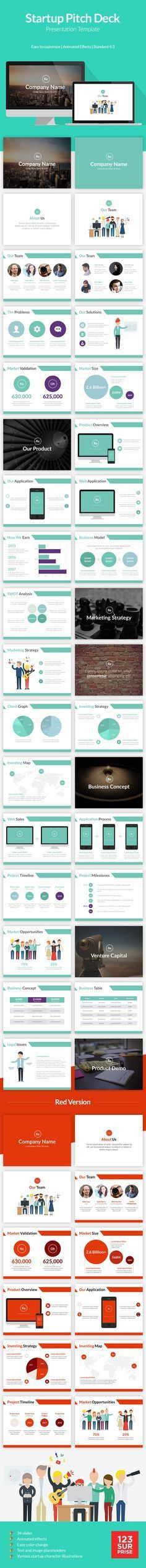 Key ingredients of a Winning Pitch Deck   Presentation Templates ...