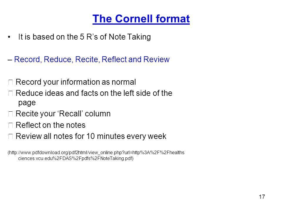 NOTES TAKING Dr. Sarwet Rasul. - ppt download