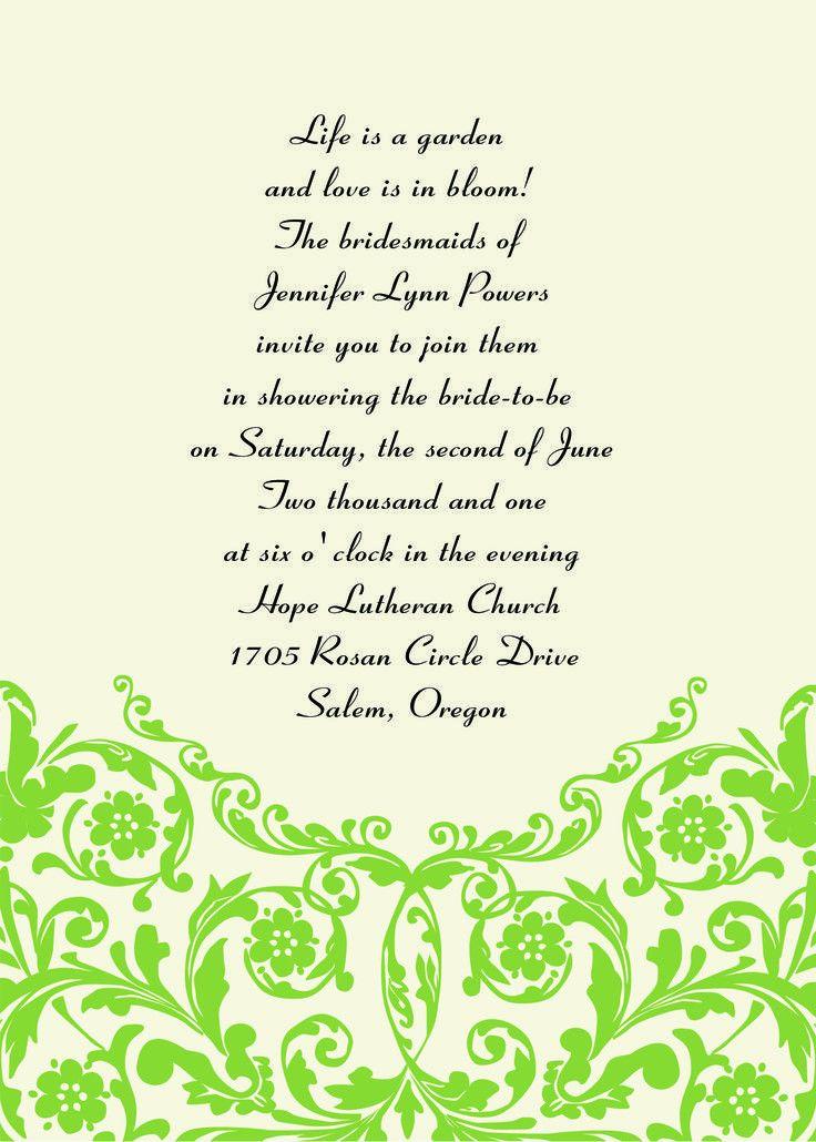 The 25+ best Unique wedding invitation wording ideas on Pinterest ...