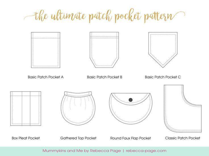 Best 25+ Pocket pattern ideas on Pinterest   Sewing pockets ...