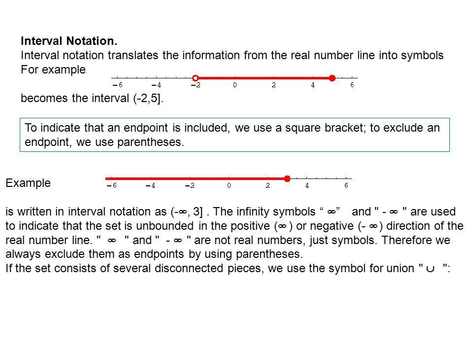 0.6 Solving Absolute Value Inequality 9/7/2012. Interval Notation ...