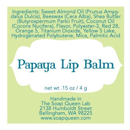 Labeling Your Products : Lip Balm - Soap Queen