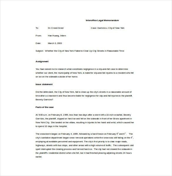 Memo Template – 17+ Free Word, PDF Documents Download! | Free ...