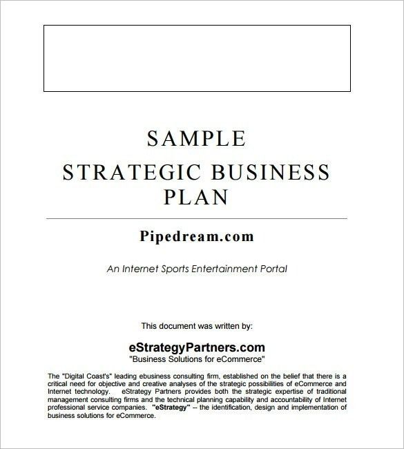Consulting Business Plan Template | Template Idea