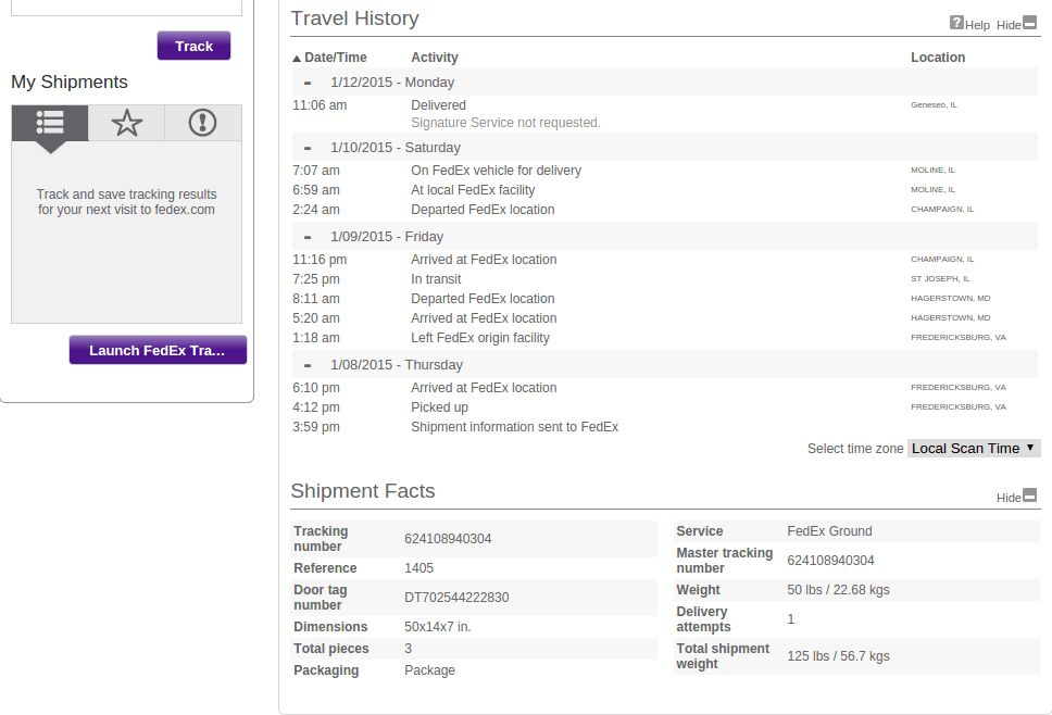KingPabel Blog | Fedex Tracking Api Use in Your PHP Project