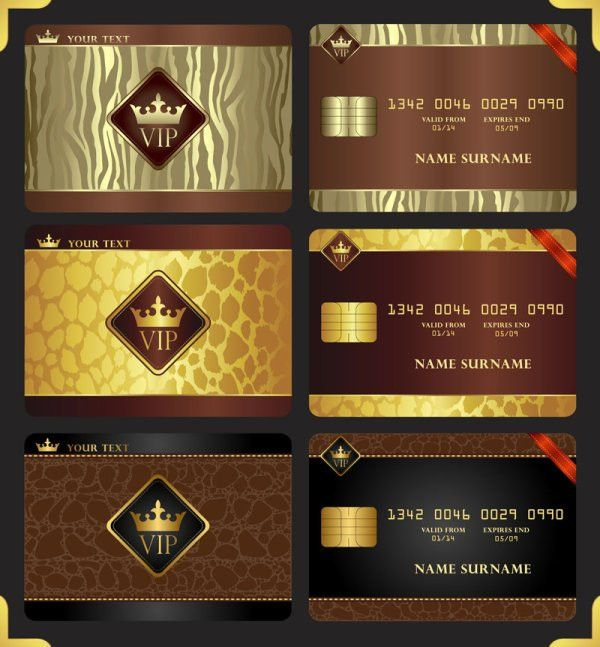 Keywords: gorgeous, Jinzun, VIP, membership card, template, crown ...