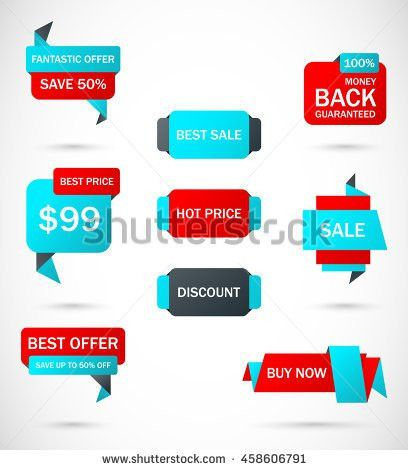 Super Sale Banner Discount Tag Special Stock Vector 584425828 ...