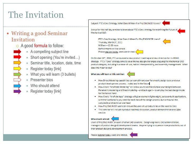 Invitation For Event Sample | futureclim.info