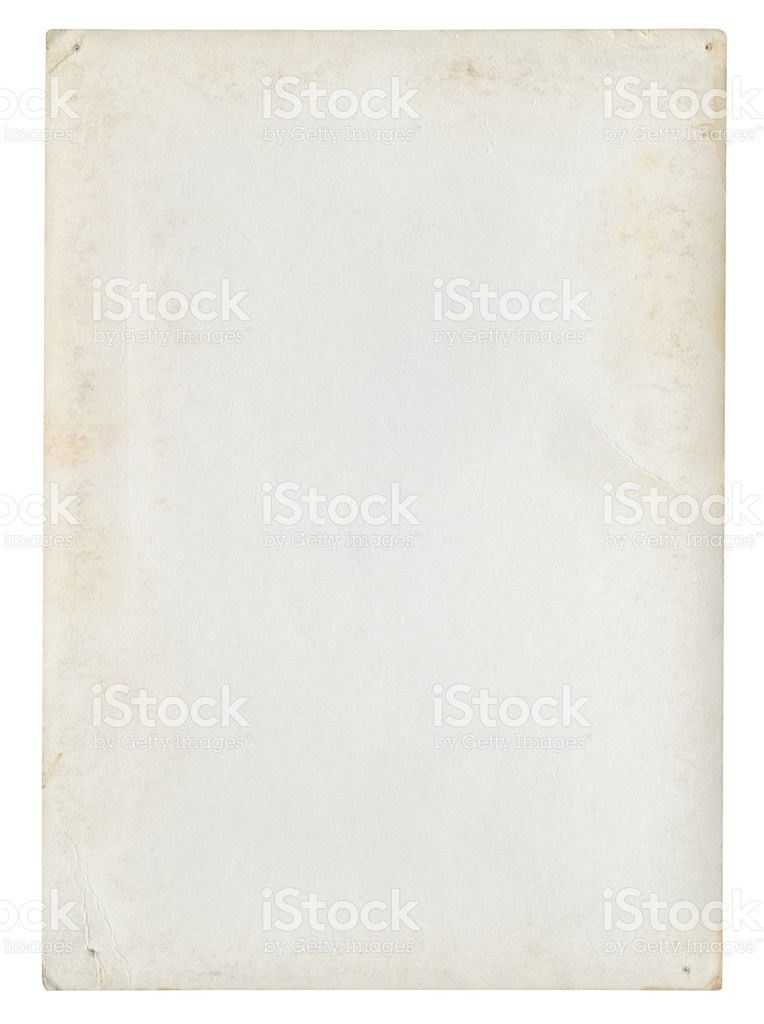 Blank Paper Background Isolated stock photo 182877015 | iStock