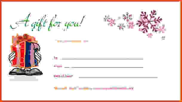 Gift Certificate Template Word.restaurant Gift Certificate Word ...