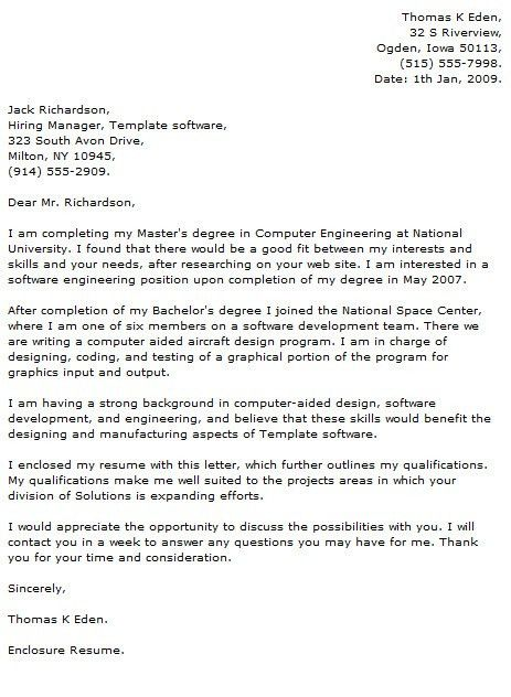 Programmer Cover Letter Examples - Cover Letter Now