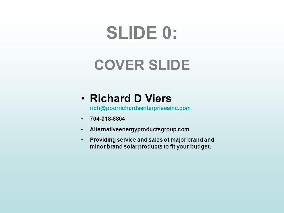 10-Part Investor Presentation Outline 1.Vision 2.Summary 3.Market ...