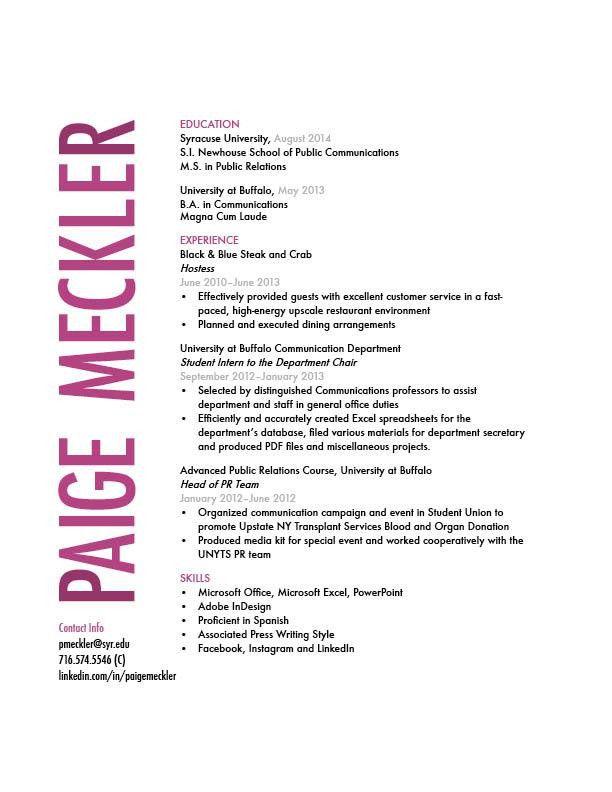 Student Résumé | gra617 | Page 8